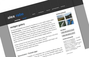 WordpressにFlashのフォトギャラリーを設置する(NextGen Gallery)
